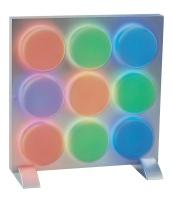 LED 9 column pane