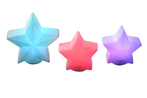 LED PVC star