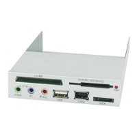 USB 2.0 All in 1 Card Reader Internal type