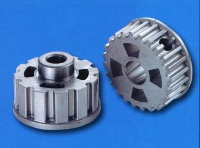 Teeth type belt gears