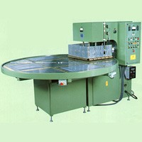 Auto Rotary Table High Frequency PVC Welding Machine