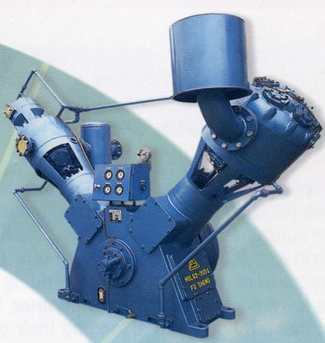 雙螺旋微油變頻式空氣壓縮機