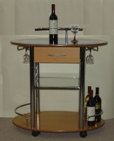 Portable Bar Trolley