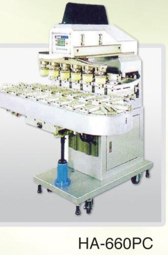 一至六色微電腦墨杯式移印機