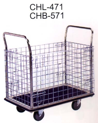 Powder Coating PlatformHand Truck