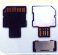 High Speed SD Card with USB 2.0 Connector
