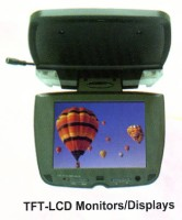 7 Rooftop TFT-LCD Car Monitor