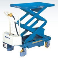Cens.com Battery Powered Lift Table - 2X type TAIWAN BISHAMON INDUSTRIES CORPORATION