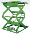 重量型油壓昇降平台 - 雙叉式