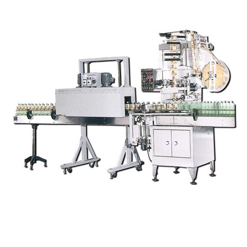 AUTOMATIC SHRINKABLE LABEL INSERTING MACHINE