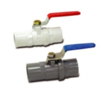 PVC Brass Ball Valve