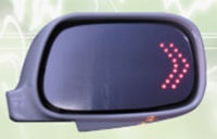 LED side-view signal mirrors