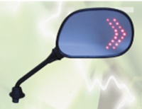Motorcycle LED Mirrors
