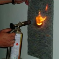 Flame-proof material