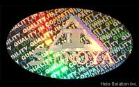 全像、雷射防伪自黏贴纸、雷射商标