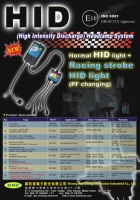 HID, High Intensity Discharge