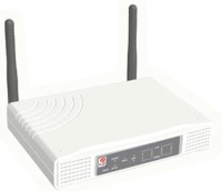 WIRELESS IEEE802.11G 54M MIMO 4 PORT LAN ROUTER