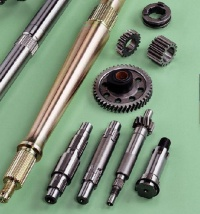 Gears and axle parts for autos and motorcycles