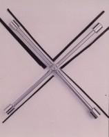專利可折合十字扳手-第一代