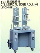 CYLINDRICAL EDGE ROLLING MACHINE