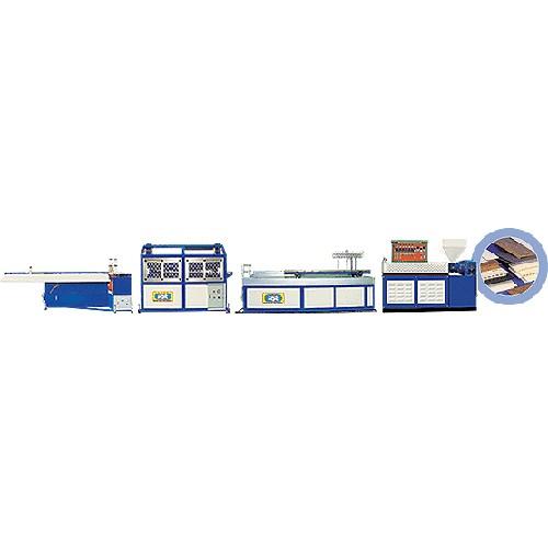 SINGLE-SCREW PVC (WALL) PROFILE EXTRUDER