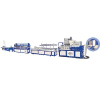 TWIN-SCREW PVC (door, wall, sheet) EXTRUDER ( )