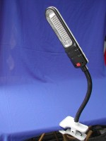 夾式磁鐵工作燈 (PL-13W日光燈)