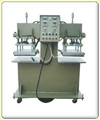 油壓式雙頭布類轉印機