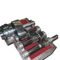 The internal structure of extruders