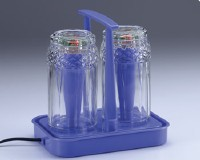 flashing photoelectric glass cups set(2 in one)