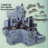 Five-spindle boring machine