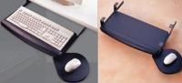 抽屉式滑动键盘板及滑鼠板