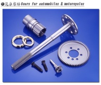 Gears for automobiles & motorcycle