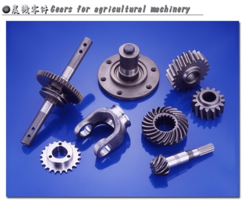 Gears for agricultural machinery