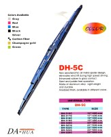 Color- Type Wiper Blade