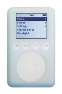 Silicon Skin For iPod 3G