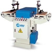 Pneumatic Hoizontal Right/ Left Grooving Machine (Crank shaft)