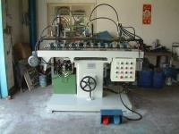 Hydraulic Horizontal Multi-Spindles Grooving Machine