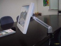 Desk-Mounted Swivel Premier Arm for LCD Monitors