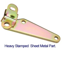 Heavy Stamped Sheet Metal Part