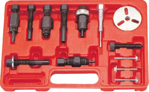 Deluxe A/C clutch hub puller and installer kit