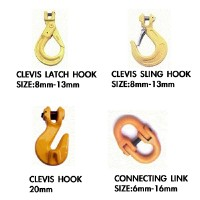 CLEVIS LATCH HOOK,CLEVIS SLING HOOK