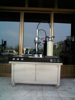 AEROSOL SEMI- AUTOMATIC LIQUID AIR FILLING MACHINE
