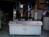AIR PRESSURE AUTOMATIC AEROSOL FILLING MACHINE