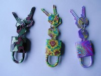 Key for Blanks, Auto Keys, Door Locks, Aluminum Alloy Keys