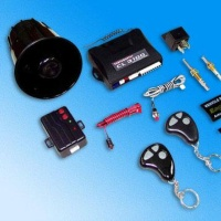 Remote Car Alarm System with Multifunction LED and Anti-Carjacking Switch
