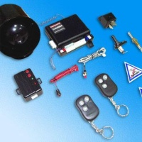 Alarm System with Anti-Carjack Switch and PIN Code Protection