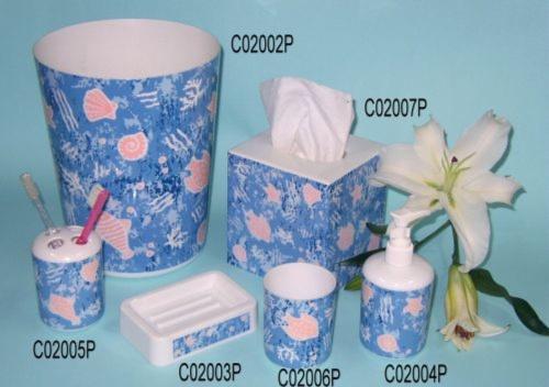 Bathroom set (Ocean 6 pcs)