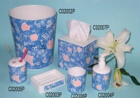 Cens.com Bathroom set (Ocean 6 pcs) CHIU FENG BLINDS INDUSTRY CO., LTD.