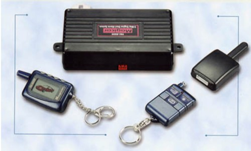 2-Way LCD Car Alarm System with Remote Starter
